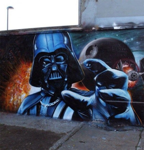 itsaconquestofimagination:  Street art is always the best