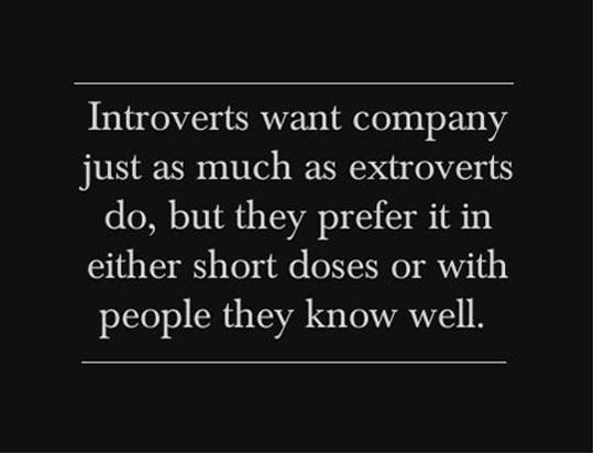 "introvertunites: "" If you're an introvert, follow @introvertunites. """