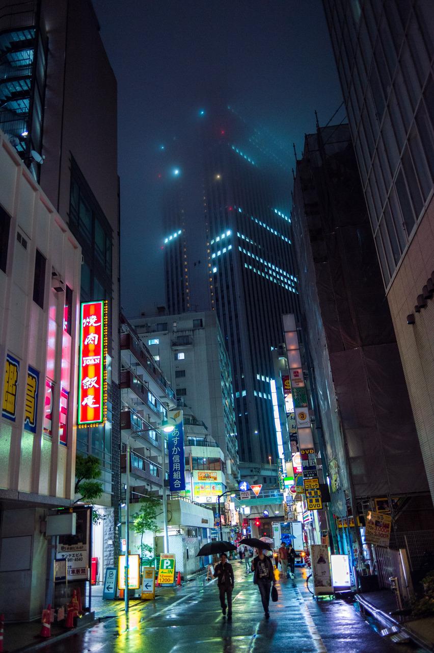 Neon Rain, Ikebukuro (池袋) Follow me on Instagram — @eyexplor