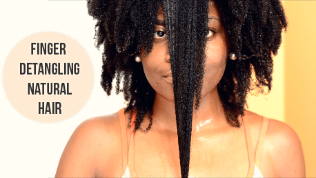 Image result for natural hair length retention from not combing hair