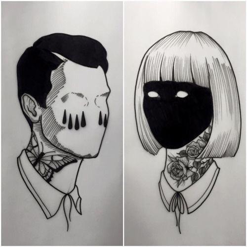 Aesthetic Tumblr Tattoo Drawings