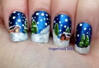 christmas nail designs on Tumblr
