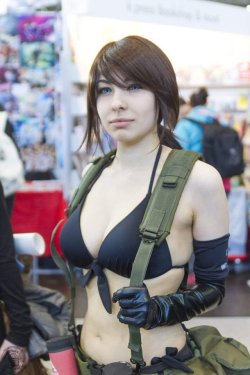 Quiet Cosplay - MGSV - LBM by AlexBlacklight  Check out http://hotcosplaychicks.tumblr.com for more awesome cosplay