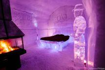 Hotel De Glace - Quebec Canada Rebuilt . Luxury