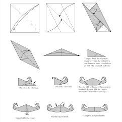Origami Hummingbird Diagram Instructions Lx Torana Wiper Motor Wiring Paper Works  A For An Moustache Happy