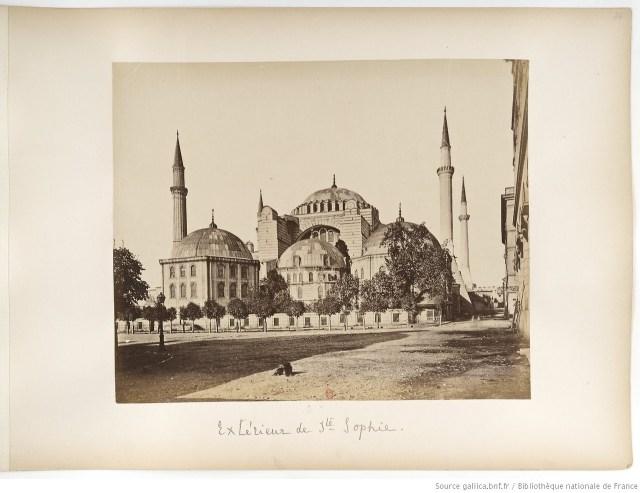 19. Yüzyılda Ayasofya