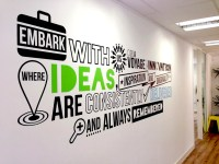 RAWZ  Office Typography Wall Decal