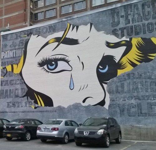 barbarapicci:  (via Streetart News [wall 697] - D*Face, Akse P19, Insane51)  Click for the gallery:https://barbarapicci.com/2016/11/11/streetart-news-697/