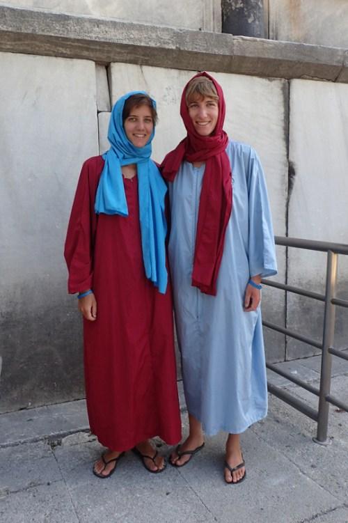 Visite de la mosquée bleue