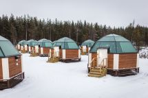 Finland Glass Igloo Village Hotels