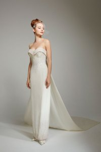 understated wedding dress