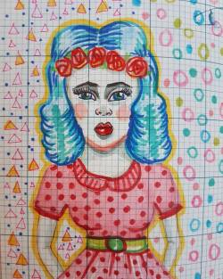 Hot night and some ink pens. #art #artshow #exhibition #doodles #drawing #pencildrawing #drawdrawdraw #illustration #journal #perthcreatives #perthartist #popart #polkadots #patterns #design #50s
