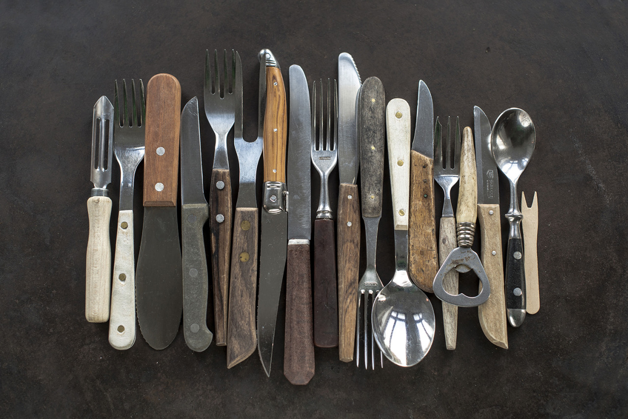 assorted kitchen tools