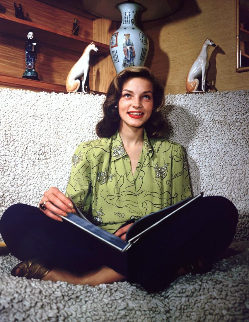 Lauren Bacall Reads