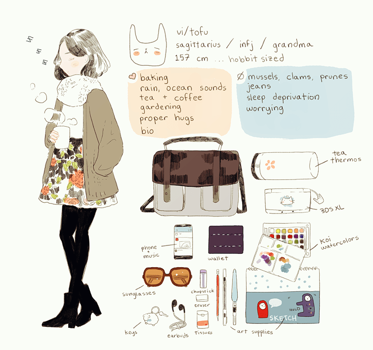 barrel rolls onto the bandwagon! 'meet the artist' doodle \o/