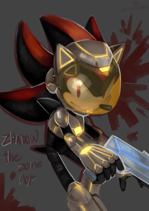 Zonic the Zone Cop  Tumblr