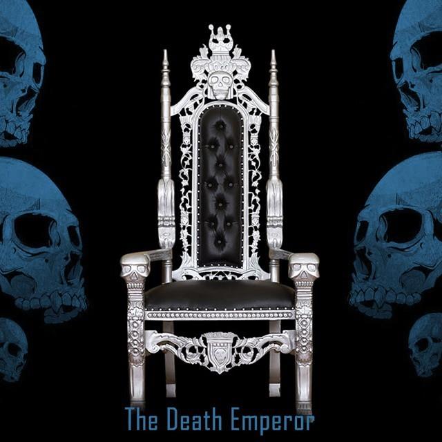 Haunt Furniture  The amazing Death Emperor Throne! Fully...
