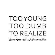 bruno mars lyrics on Tumblr
