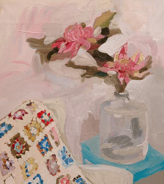"huariqueje: "" Studio Still Life - Laura Jones , 2013 Australian,b.1982- Oil on linen """
