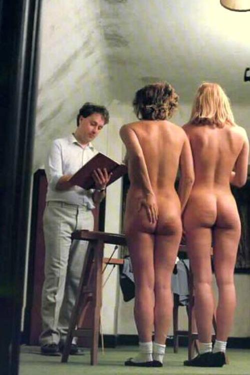 Nude slave auction