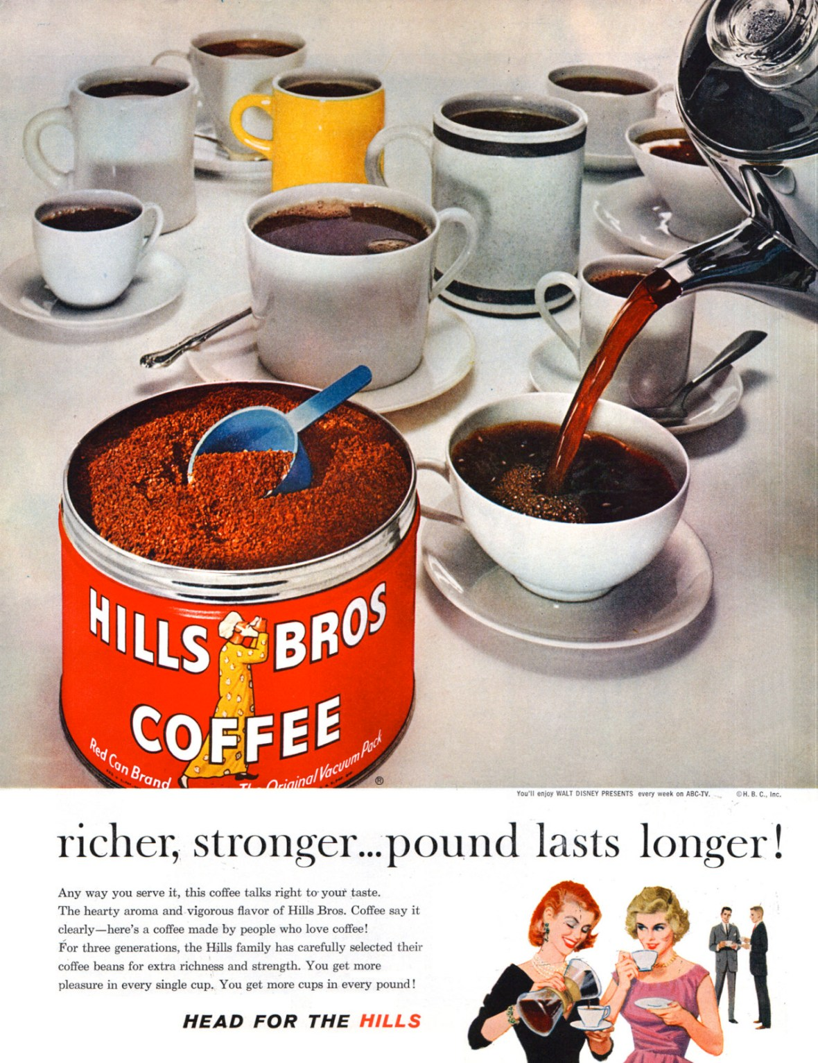 Hills Bros. Coffee - 1960