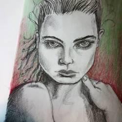 Caroline #art #doodles #sketch #drawing #drawdrawdraw #sketching #pencildrawing #fashion #perthcreatives #perthart