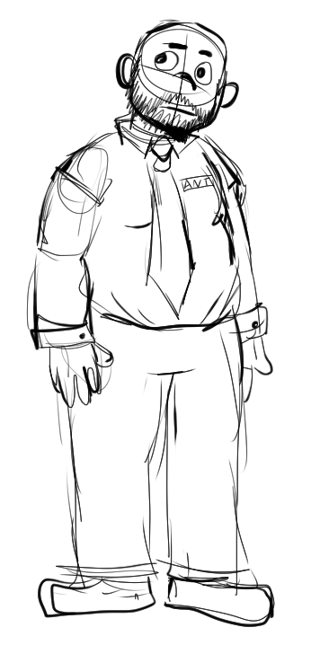 Fnaf Guard Oc