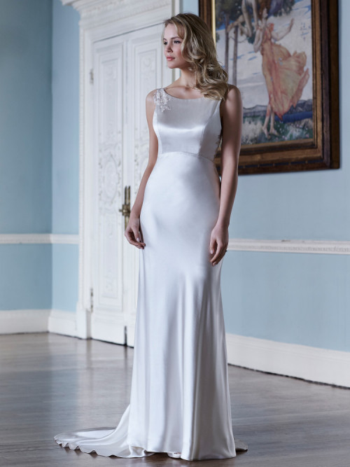 understated wedding dress