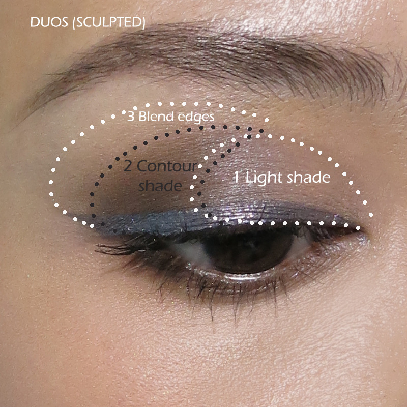 how to apply eyeshadow diagram whirlpool dryer heating element occupation: girl | dhaunea: makeupbox: use duos, trios,...
