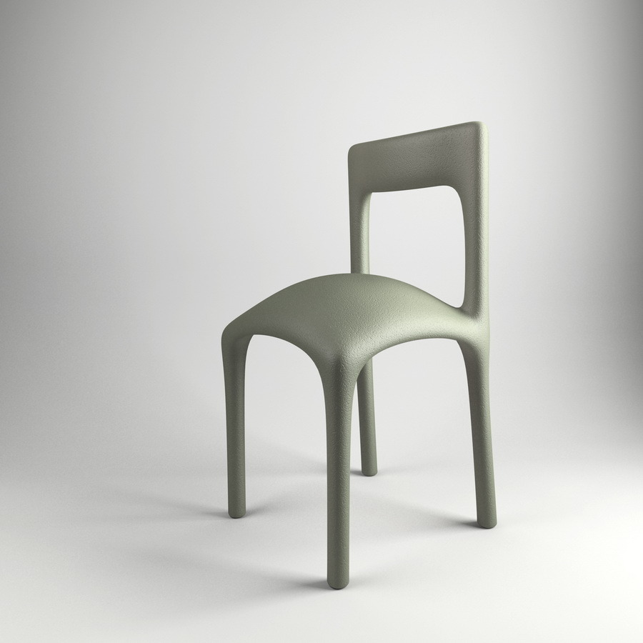 uncomfortable chair #3 © 2012 Katerina Kamprani - all rights reserved