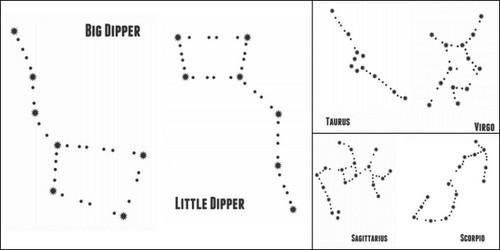Star Constellations Worksheets