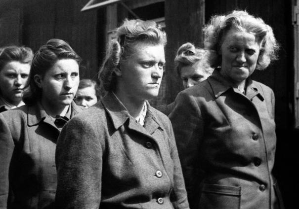 The Beasts of Bergen-Belsen: Women SS guards via reddit