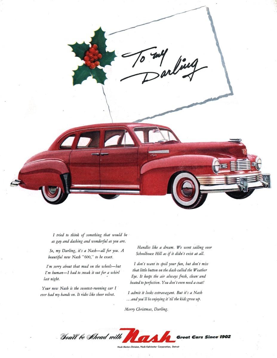 1948 Nash 600 - published in Look - December 23, 1947