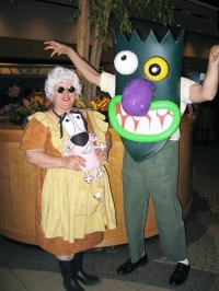 courage the cowardly dog cosplay | Tumblr