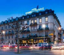 Hotel 'angleterre - Geneva Switzerland. Luxury