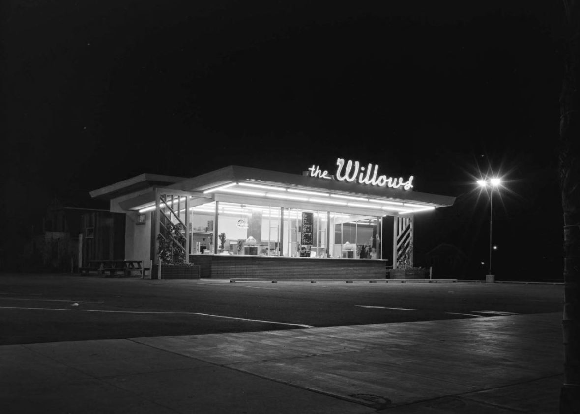 The Willows - Los Angeles, California U.S.A. - February 18, 1955