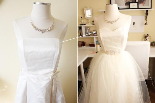 DIY Wedding Dress In The Making