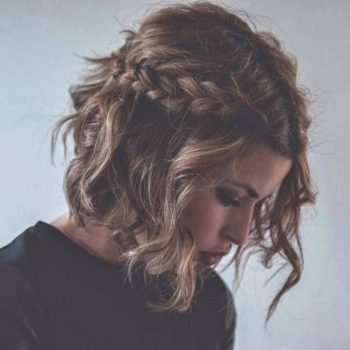 Medium Curly Hairstyle Tumblr