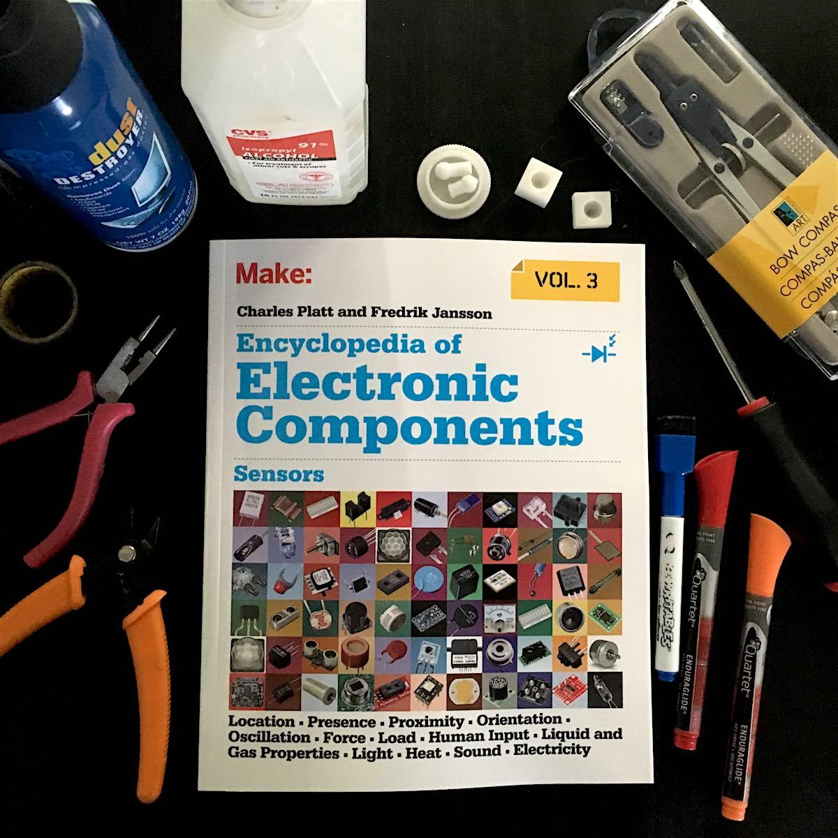 hight resolution of encyclopedia of electronic components volume 3 sensors