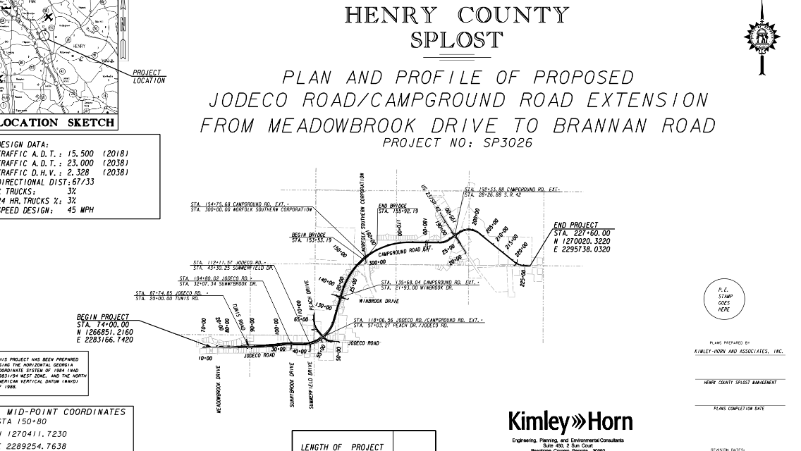 Campground Road Extension moves forward in Henry County