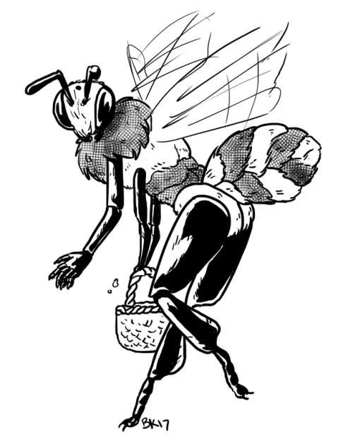Furry Insect