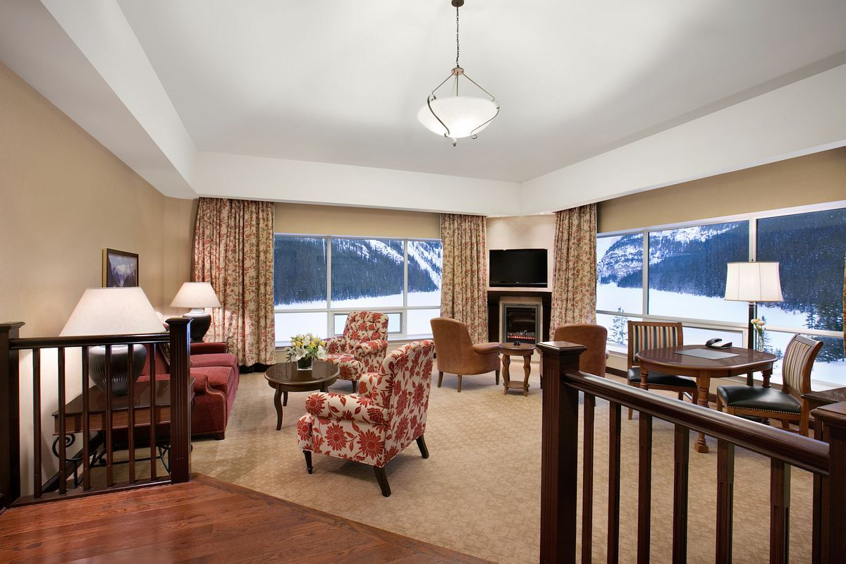 Fairmont Chateau Lake Louise Majestically located  Luxury Accommodations