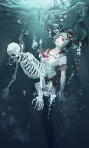 anime underwater