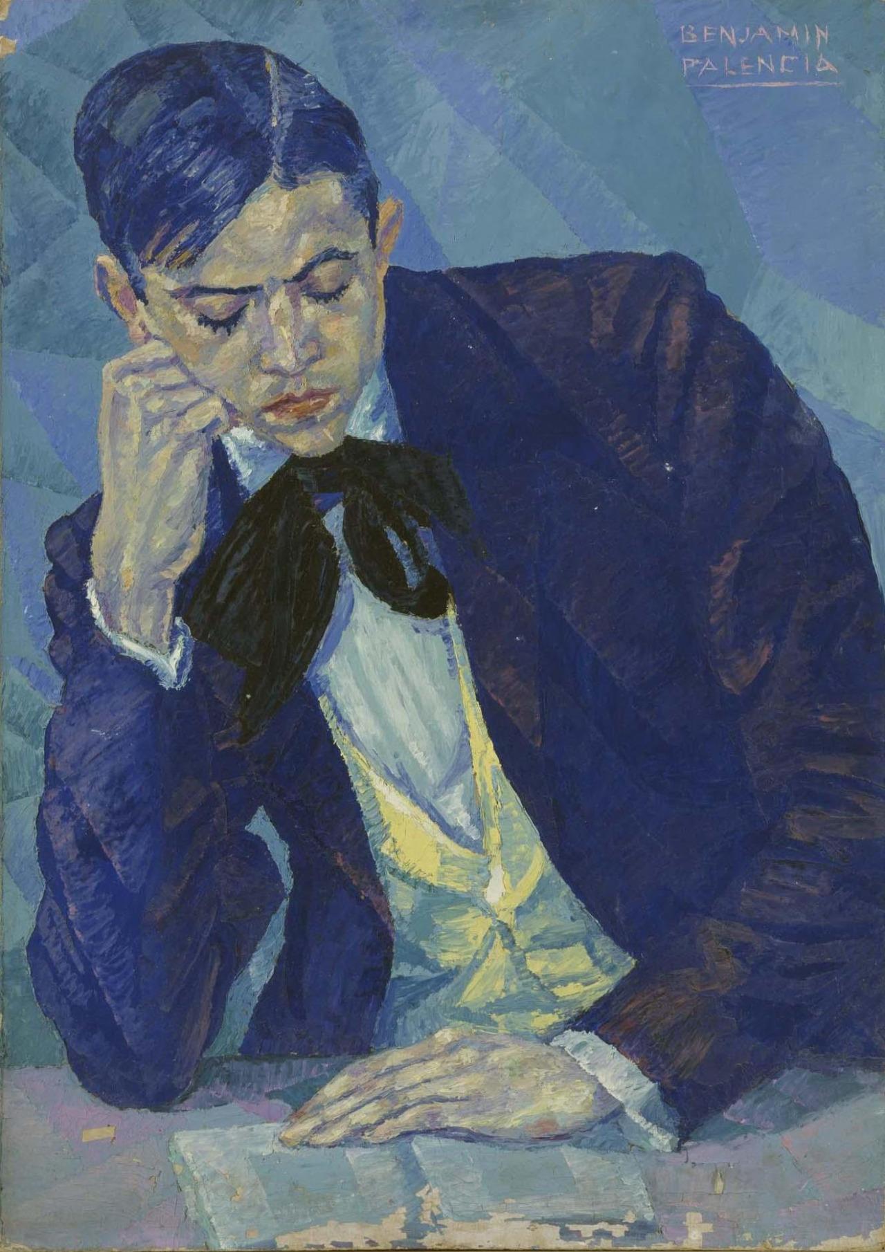 """amare-habeo: """" Benjamín Palencia (Spanish, 1894 - 1980) Portrait (Retrato), 1925 """""""