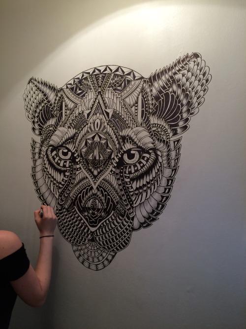 Lion Sharpie Drawing Tumblr