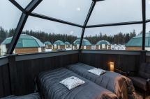 Arctic Finland Glass Igloos