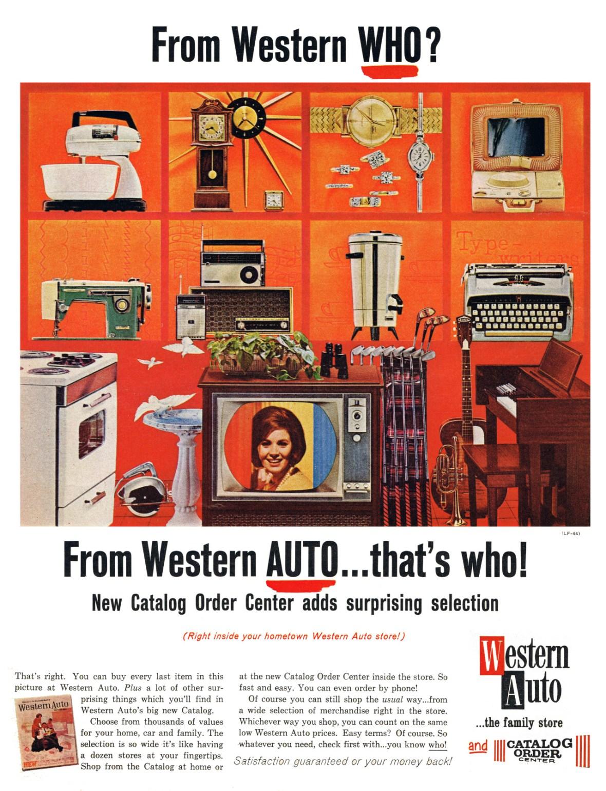 Western Auto - 1964