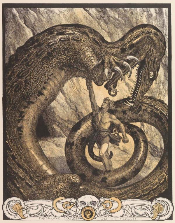 Der Ring Des Nibelungen Illustrations