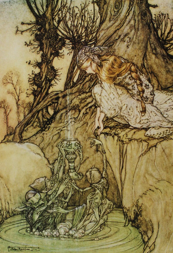 Ghost In Machine - Today Classic Arthur Rackham