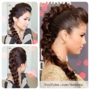 latest hair tutorial. selena